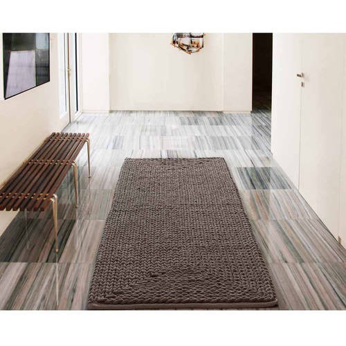 VCNY Home Barron Cotton Chenille Bath Rug Runner, 2' x 5' by VCNY Home