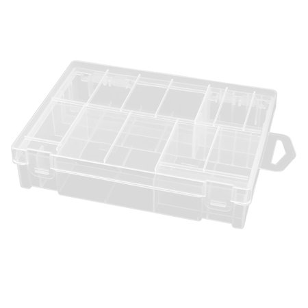 Clear Plastic Storage Battery Box Case for AA/AAA/2th/D Batteries