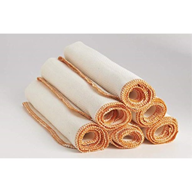 Organic Cotton Kitchen Towels Absorbent