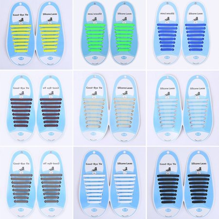 Creative Silicone Shoe Lace No Wash Lazy Shoelace Elastic Casual Shoe Lace - image 6 of 6