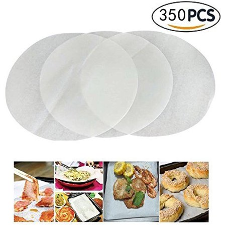 EATOP INC Parchment Paper Baking Circles - 500 Pre-cut 6 Inch Round Parchment Sheets for Baking Cakes, Cooking, Dutch Oven, Air Fryer, Cheesecakes, Tortilla (Dutch Cakes)