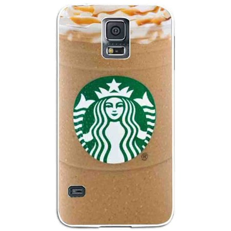 Ganma starbuck ice coffe Caramel Frappuccino Case For Samsung Galaxy Case (Case For Samsung Galaxy S4 Black) (Galaxy Caramel)