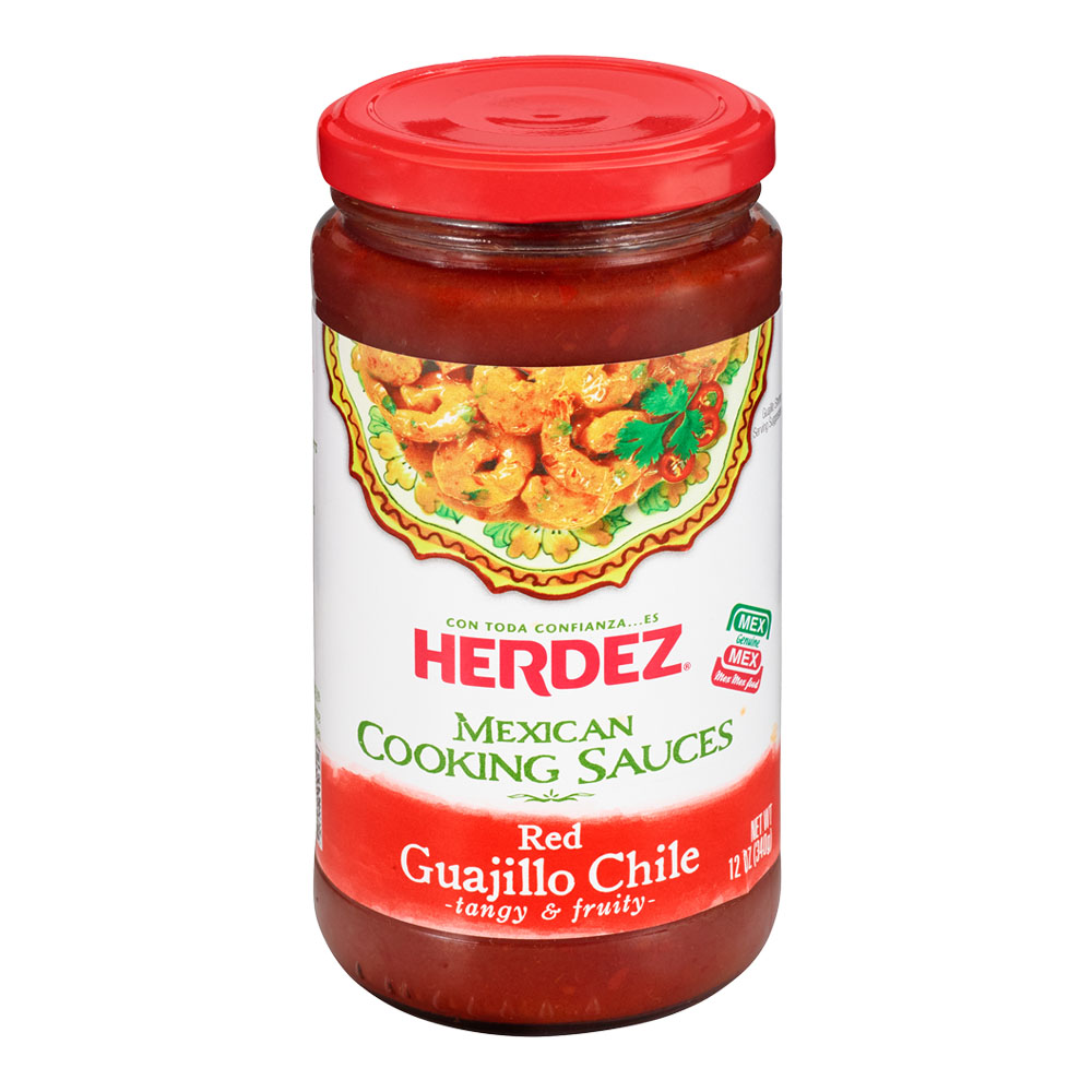 Herdez Red Guajillo Mexican Cooking Sauce, 12 Ounce