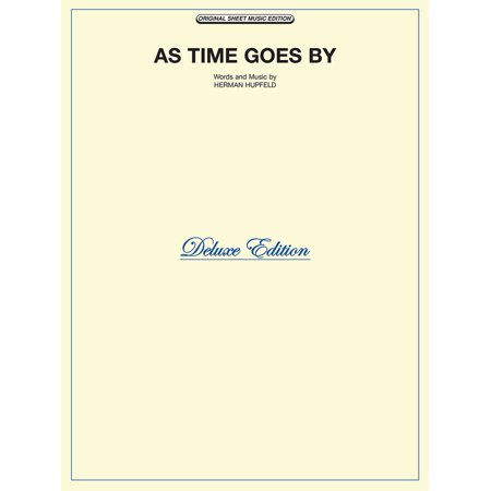 As Time Goes By Sheet Music - eBook (Not A Day Goes By Sheet Music)