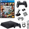 PlayStation 4 Pro 1TB Console With GTAV & 8 in 1 Kit