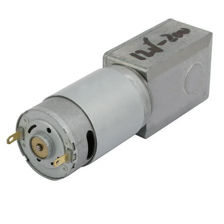 JGY-395 DC12V 200RPM D Shaft Brushed Turbine Worm Reduction Gearbox DC Motor - image 1 de 3