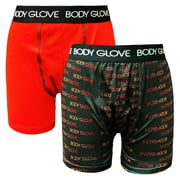 Body Glove Toddler & Boys Performance Boxer Briefs, 2 Pack Size 2T-12