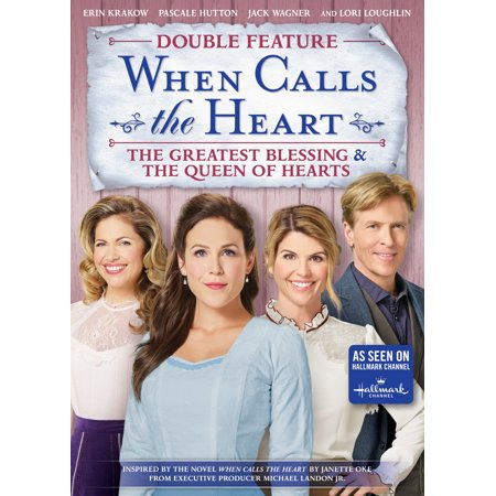 When Calls The Heart: Double Feature - The Greatest Blessing & The Queen of Hearts (Walmart Exclusive) (DVD) - Drag Queen Halloween Show