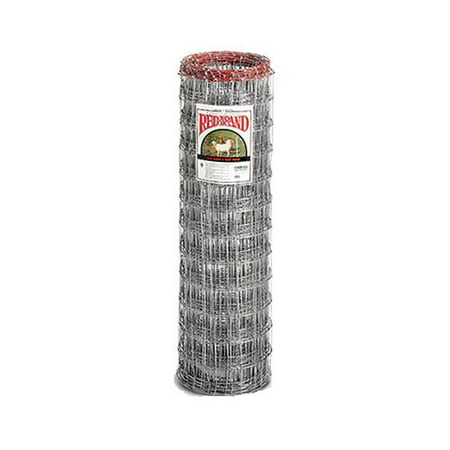 Keystone Steel & Wire 70305 Fencing, Sheep & Goat, 4 x 4-In. Galvanized Mesh, 4 x 100-Ft. - Quantity 1