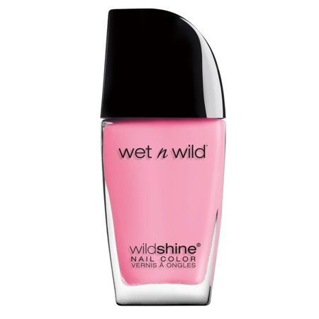 wet n wild Wild Shine Nail Color, Tickled Pink