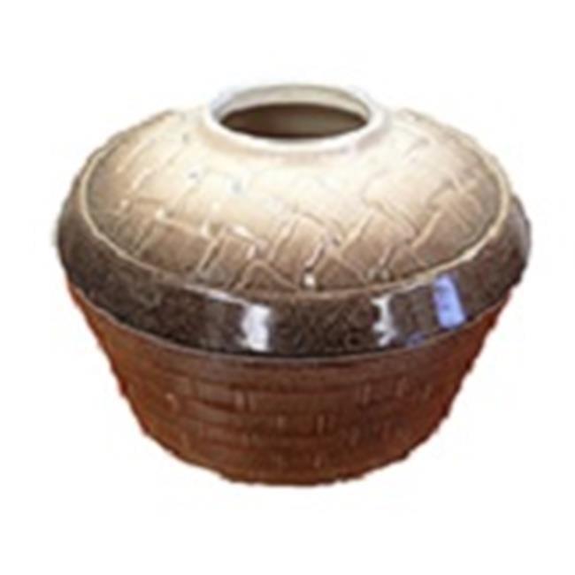John Wright 31575 Basket Weave & Mocha Sand