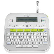 Brother P-Touch PT-D210 Label Maker Labeler - LCD Display and QWERTY Easy-to-Use
