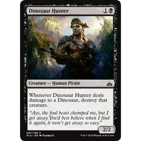 Dinosaur Hunter - Rivals of Ixalan By Wizards of the Coast - Walmart com