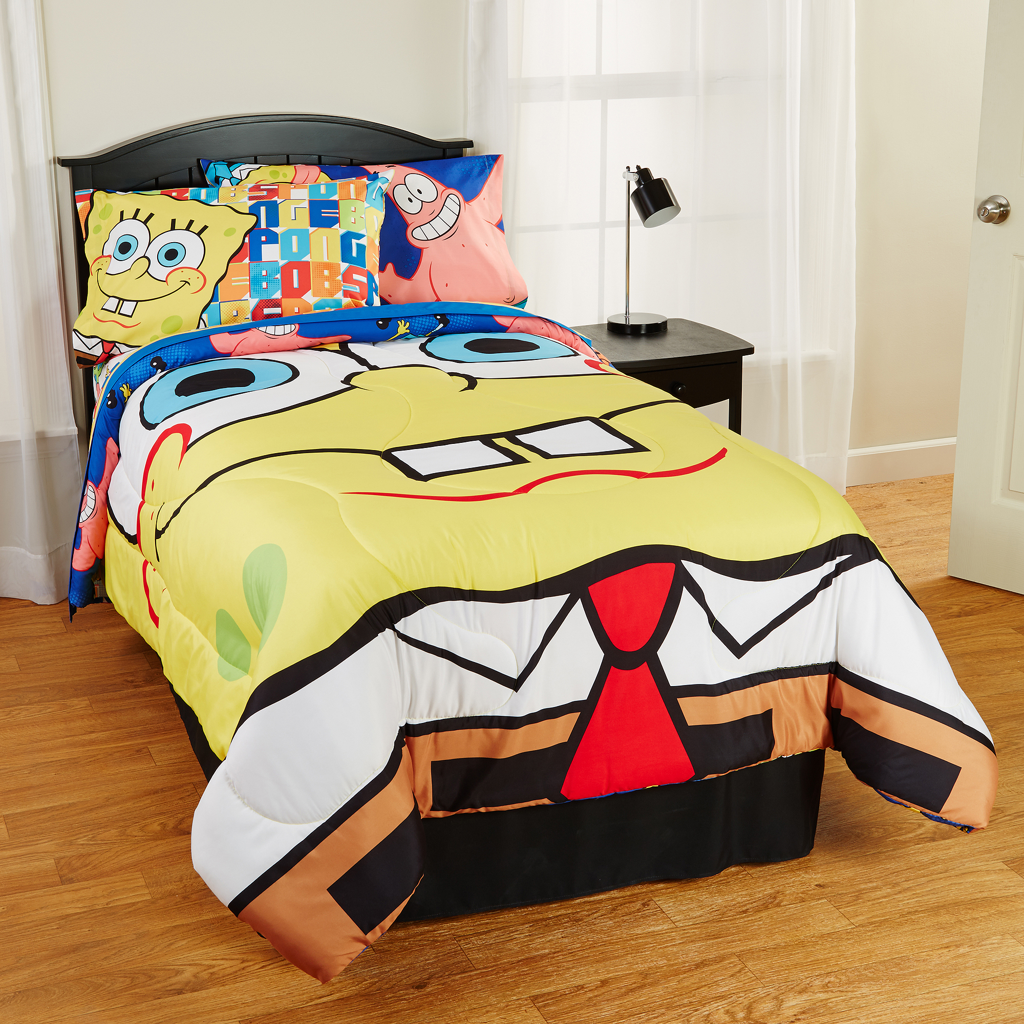 SpongeBob SquarePants Scribble Sponge Reversible Twin/Full Comforter