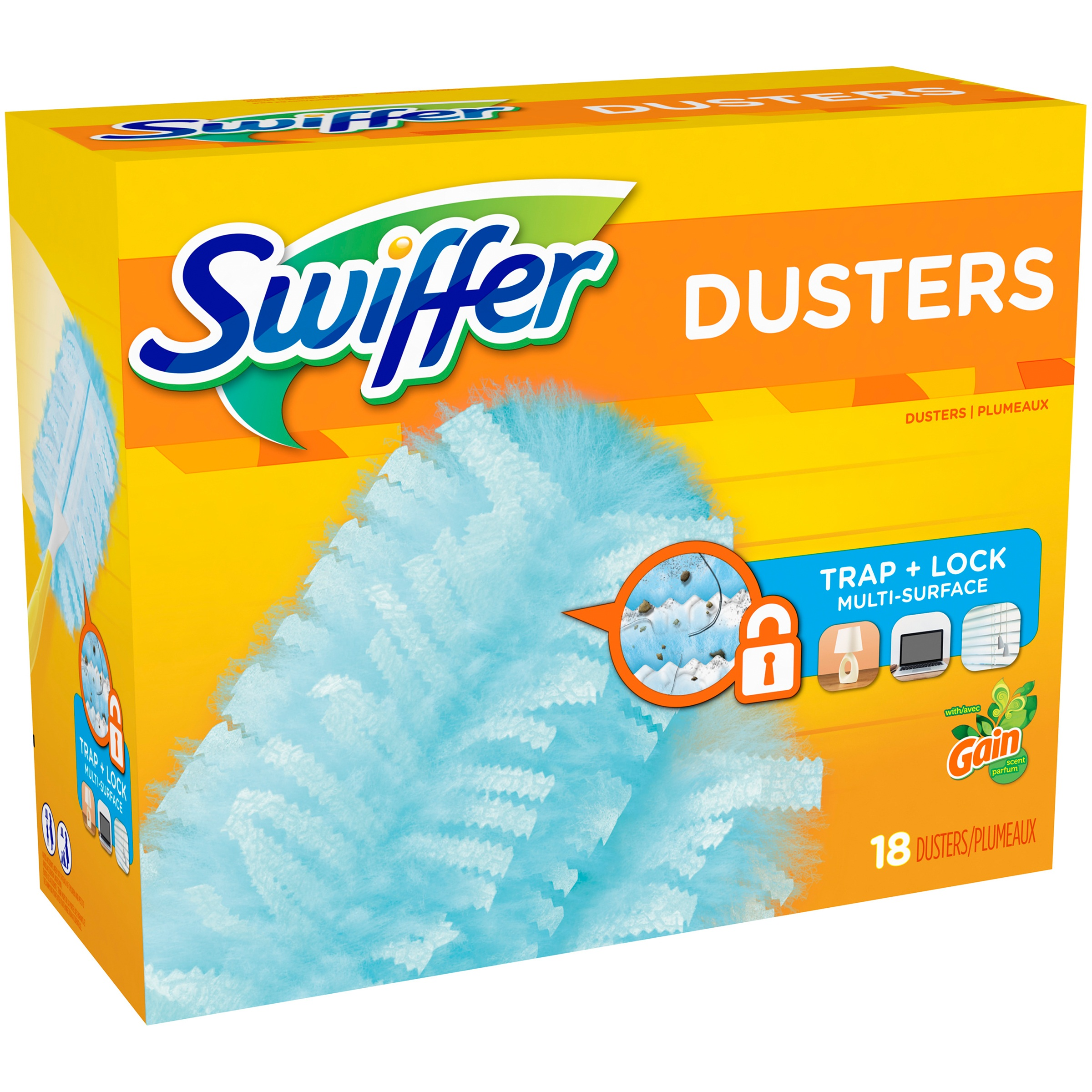 Swiffer with Gain Scent Dusters 18 ct Box