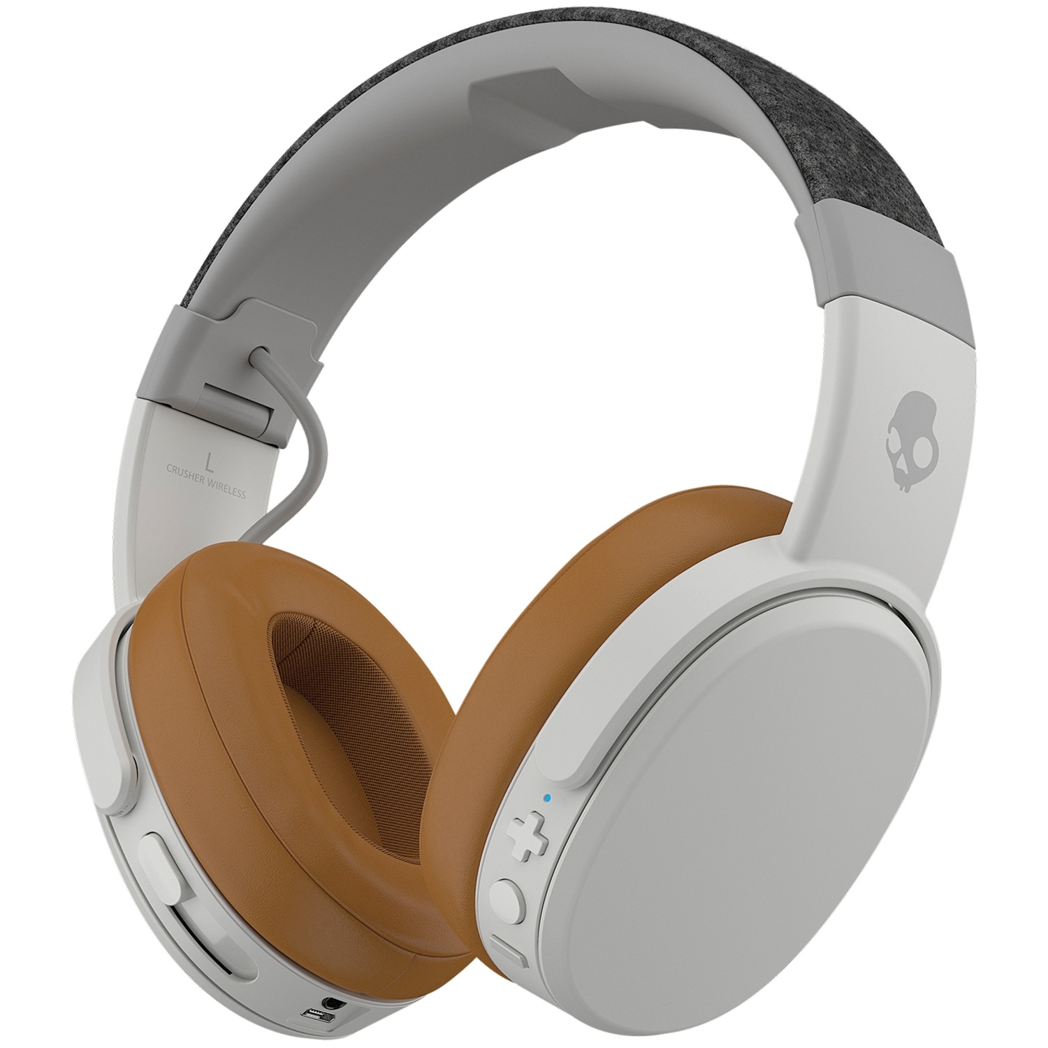 Skullcandy Crusher Wireless, Gray/Tan
