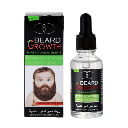 Natural Organic Beard Growth Oil(Grow Your Beard Fast) All Natural Beard