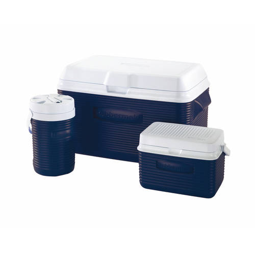Rubbermaid 34qt Cooler Value Pack - Blue