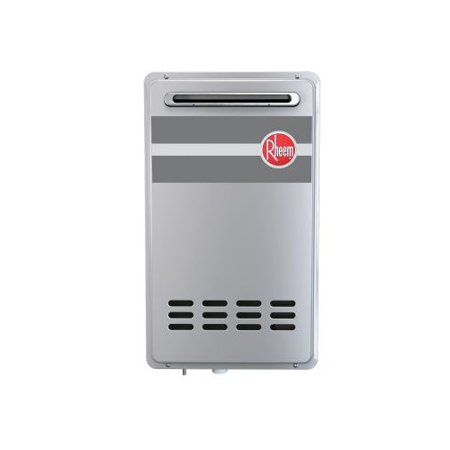 Rheem RTG-84XLP-1 8.4 GPM Outdoor Tankless Low Nox Water Heater