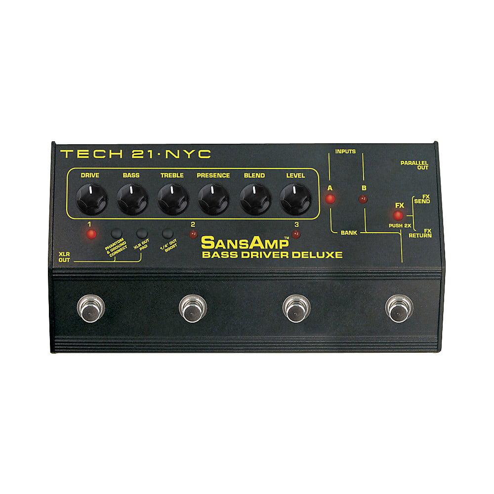 Tech 21 SansAmp Bass Driver Deluxe Multi Effects Pedal