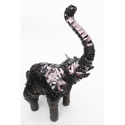 D-Art Collection Elephant Crazy Weave D cor Statue