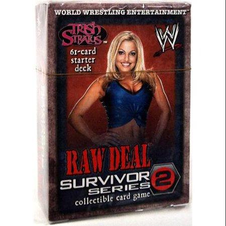 WWE Wrestling Survivor Series 2 Survivor Series 2 Starter Deck Trish - Wwe Trish Stratus