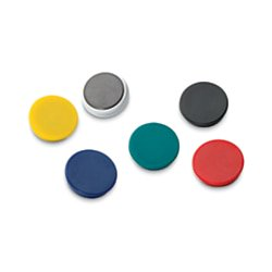 OfficeMax® Brand Heavy Duty Magnets, 1 1/4