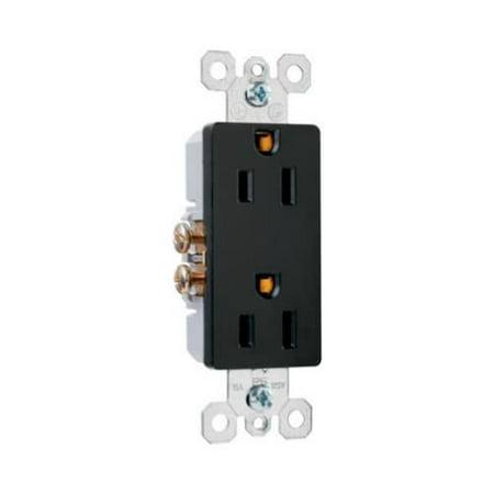 Pass & Seymour 885BKCC12 Premium Decorator Outlet (Primium Outlets)