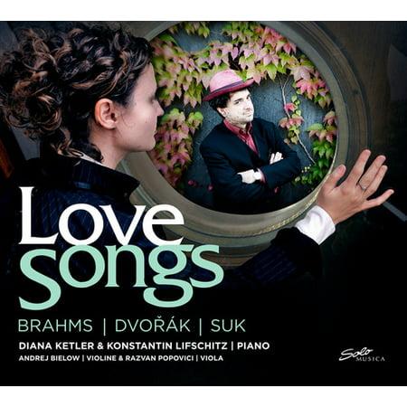 Brahms Dvorak Suk   Love Songs  Brahms  Dvor K  Suk  Cd