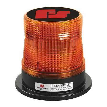 FEDERAL SIGNAL 212662-02SB Beacon Light,Magnetic,6 in. H,Class I G2420321