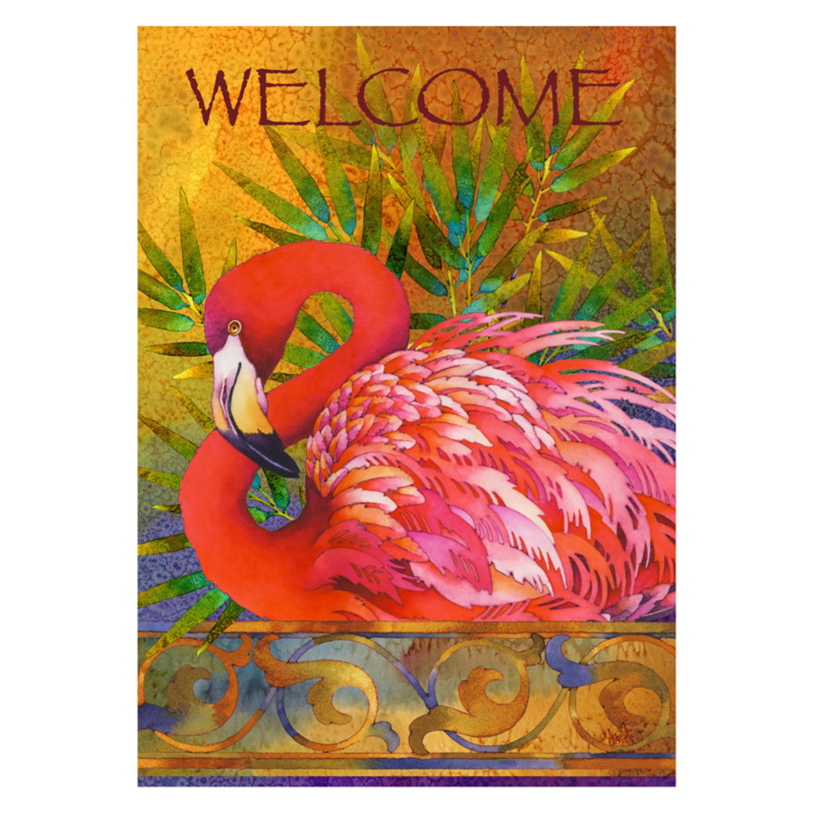 product flamingo detail buy crab flags tropical summer decorative party flag garden