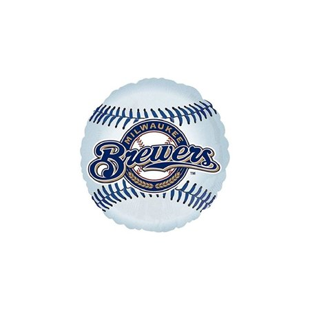 Anagram International Milwaukee Brewers Package Party Balloons, 18