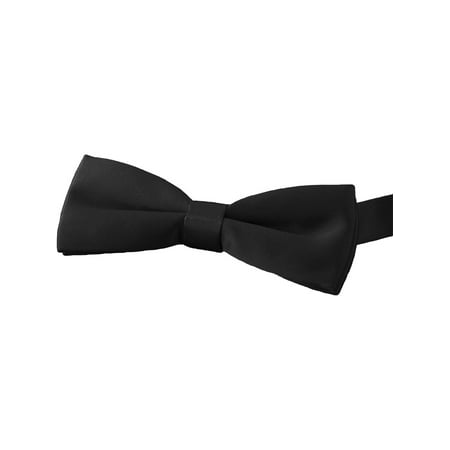 Ed Garments Formal Style Bow Tie, BLACK, One size
