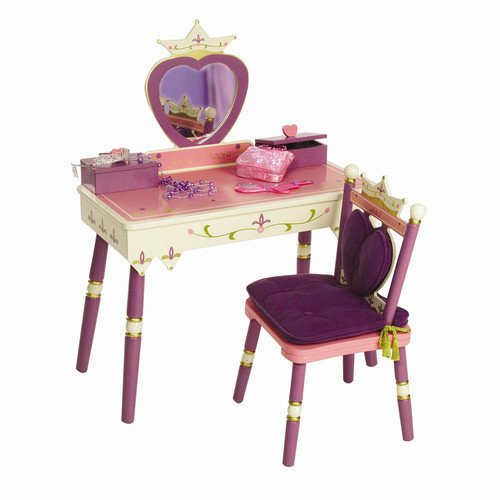 Levels of Discovery Princess Vanity Set with Mirror