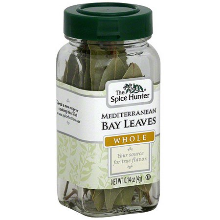 Mediterranean Bay (The Spice Hunter Mediterranean Whole Bay Leaves, 0.14 oz (Pack of 6) )