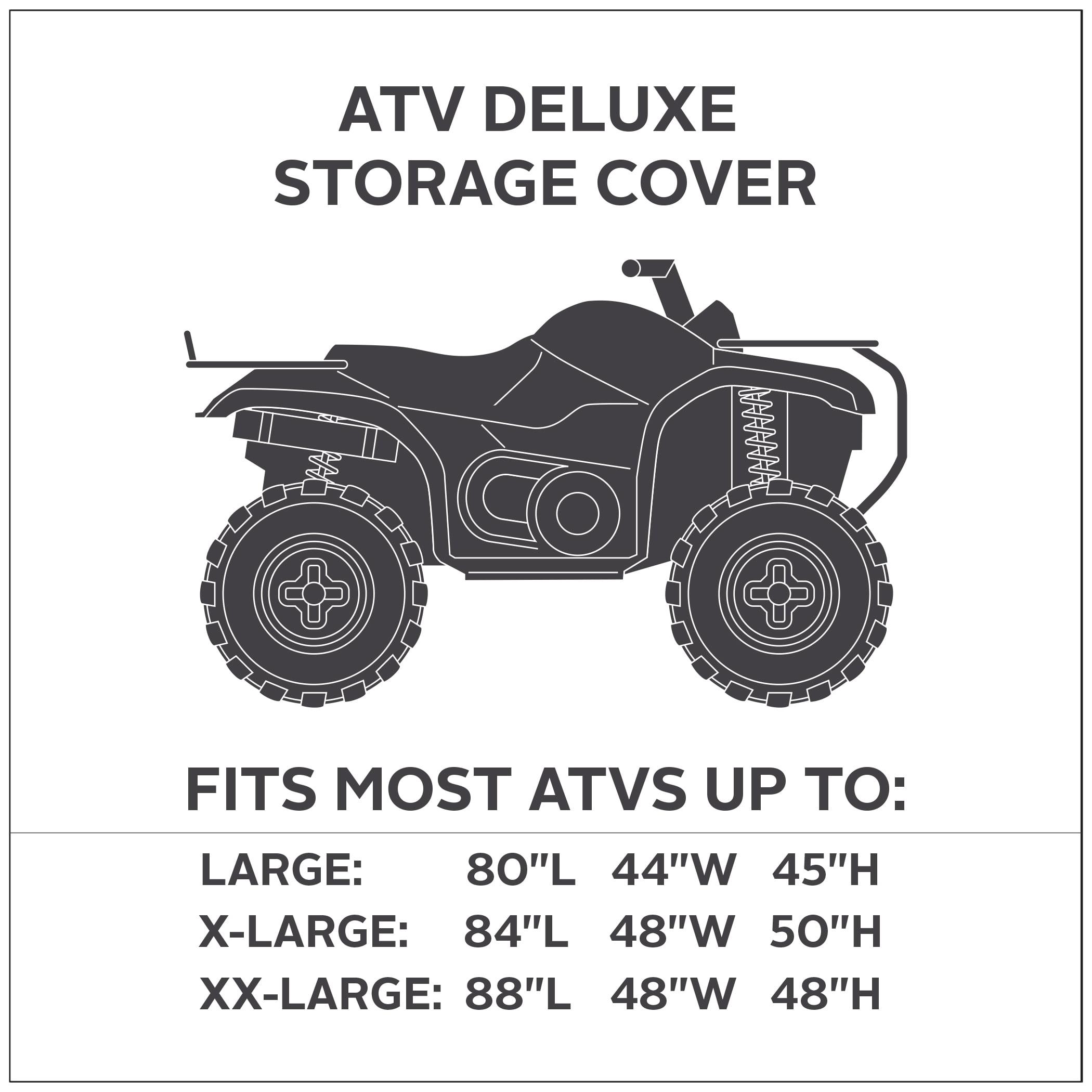 Classic Accessories Deluxe Storage Cover Black//Grey X 15-062-053804-00