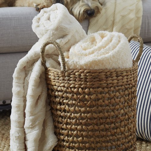 BOON Throw & Blanket Derby Double Sided Faux Fur Throw Blanket ...