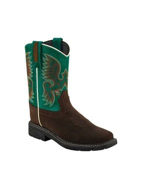 Children's Old West Square Toe Cowboy Boot - Child
