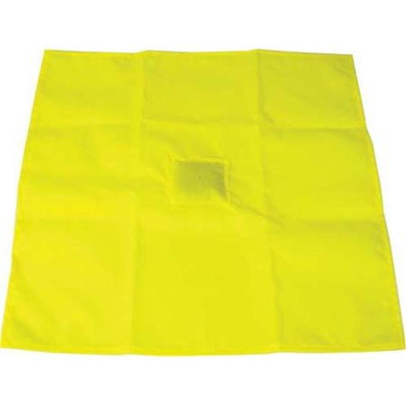 Olympia Sports FB379P Yellow Penalty Flag with Weighted - Yellow Penalty Flag