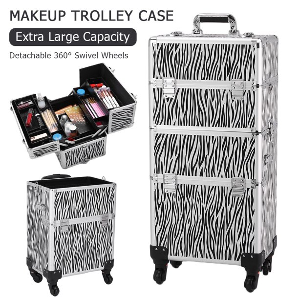 Makeup Case With Wheels For