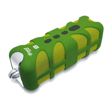 Sound Box Splash Rugged & Splash-Proof BT Marine Grade Portable Wireless Speaker with NFC Pairing and AUX Input in Green - Nfc Kit Box
