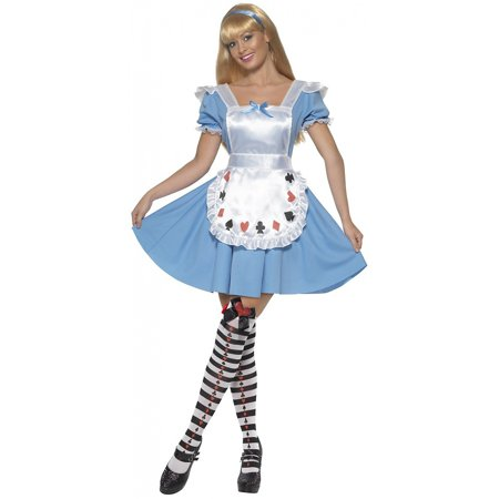 Deck of Cards Girl Adult Costume - - Deck Of Cards Costumes