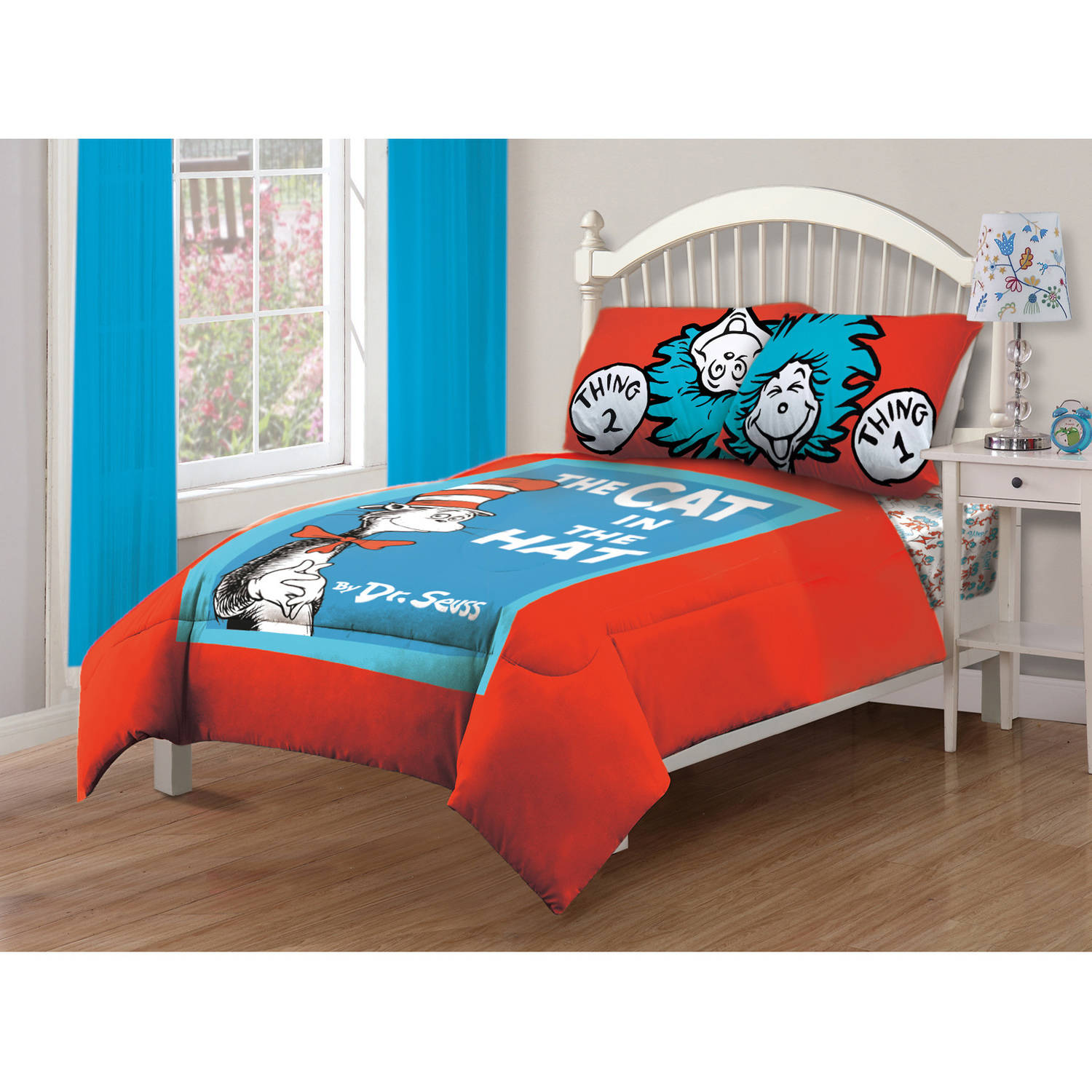 afe3148c Microsoft Dr. Seuss' Cat In The Hat, Bedding,