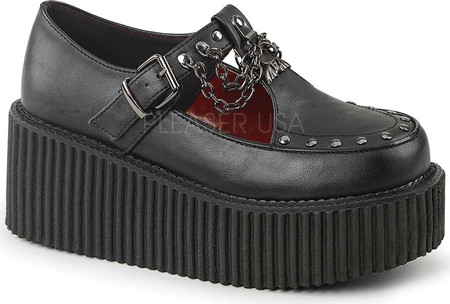 women's demonia creeper 215 t strap