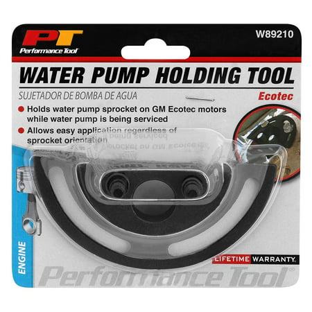 Performance Tool W89210 Water Pump Sprocket Holder For GM Ecotec (GM 2.2L and 2.4L Chevrolet, Oldsmobile, Saturn, Pontiac Ecotec engines)