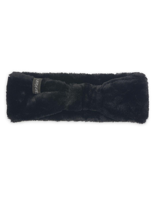 b264dd74622 Calvin Klein - Faux Fur Solid Headband - Walmart.com
