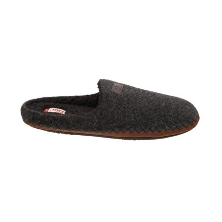 DF by Dearfoams Men's Boiled Clog Slipper (Mens Boiled Slippers)