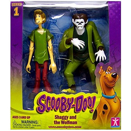 Scooby Doo Shaggy and the Wolfman Action Figures 5 Poseable, Approximately 5 Inches Tall By Warner Brothers Ship from US (Shaggy And Scooby Doo Halloween Costumes)
