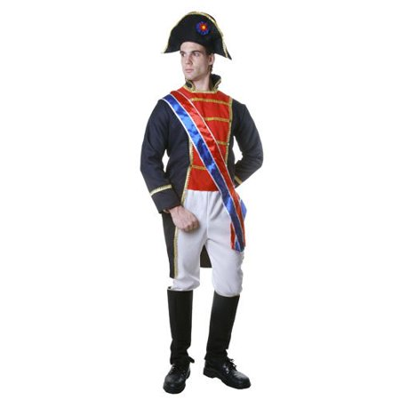 Dress Up America Adult Napoleon, Multi-Colored, Large - Napolean Dynamite Costumes