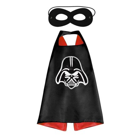 Star Wars Costume - Darth Vader Logo Cape and Mask with Gift Box by - Star Wars Darth Vader Child Costume